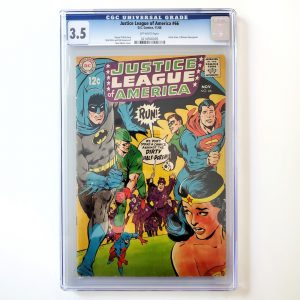 Justice League of America #66 CGC 3.5 VG- Front
