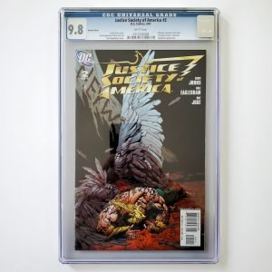 Justice Society of America #2 CGC 9.8 NM/M Variant Front