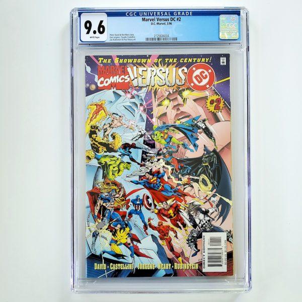 Marvel Versus DC #2 CGC 9.6 NM+ Front