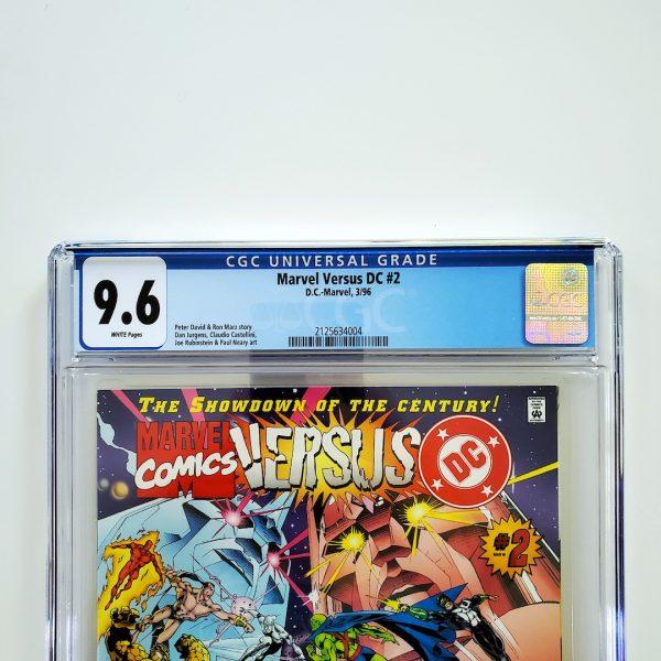 Marvel Versus DC #2 CGC 9.6 NM+ Front Label