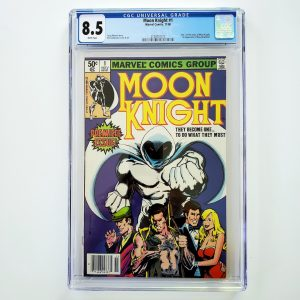 Moon Knight #1 CGC 8.5 VF+ Front
