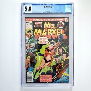 Ms. Marvel #1 CGC 5.0 VG/FN Front