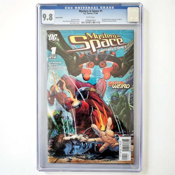 Mystery in Space #1 CGC 9.8 NM/M Neal Adams Variant Front