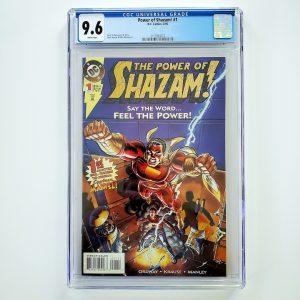 Power of Shazam! #1 CGC 9.6 NM+ Front