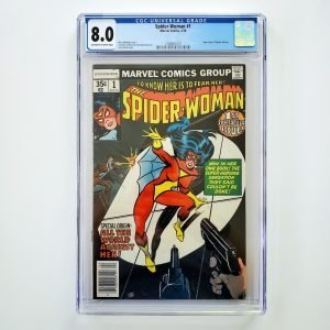 Spider-Woman #1 CGC 8.0 VF Front