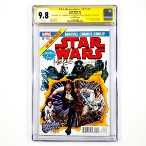 Star Wars (2015) #1 CGC SS 9.8 NM/M Heroes Haven Variant Front