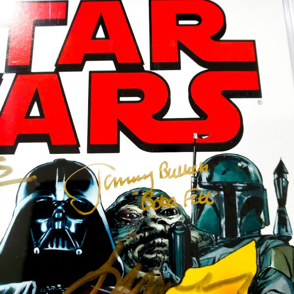 Star Wars (2015) #1 CGC SS 9.8 NM/M Heroes Haven Variant Jeremy Bulloch Signature