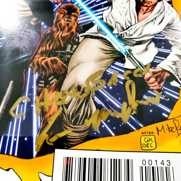 Star Wars (2015) #1 CGC SS 9.8 NM/M Heroes Haven Variant Peter Mayhew Signature