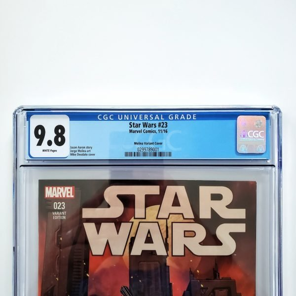 Star Wars (2015) #23 CGC 9.8 NM/M Molina Variant Front Label