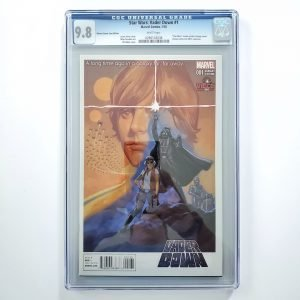 Star Wars: Vader Down #1 CGC 9.8 NM/M Vienna Comic Con Variant Front
