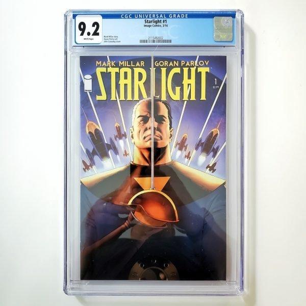 Starlight #1 CGC 9.2 NM- Front