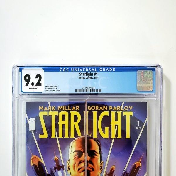 Starlight #1 CGC 9.2 NM- Front Label