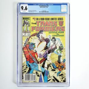 Transformers #2 CGC 9.6 NM+ Front