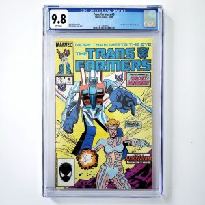 Transformers #9 CGC 9.8 NM/M Front