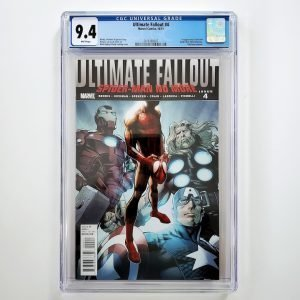 Ultimate Fallout #4 CGC 9.4 NM Front