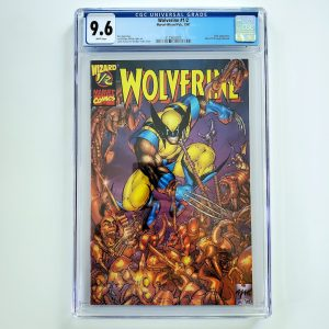 Wolverine #1/2 CGC 9.6 NM+ Wizard Special Edition Front
