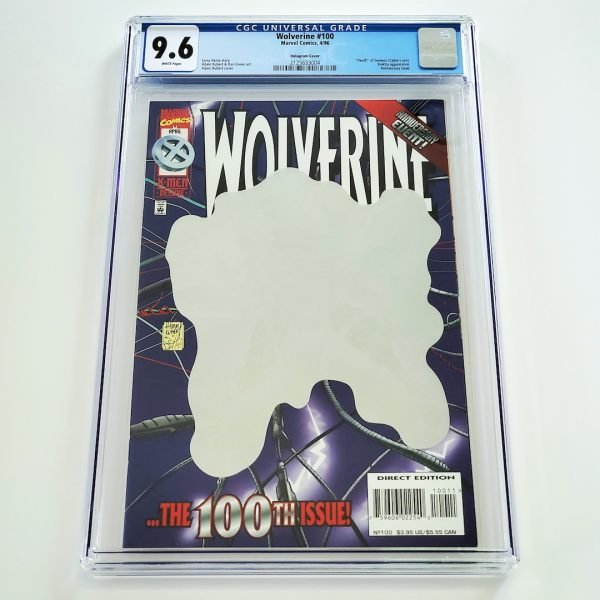Wolverine #100 CGC 9.6 NM+ Front