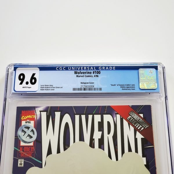 Wolverine #100 CGC 9.6 NM+ Front Label