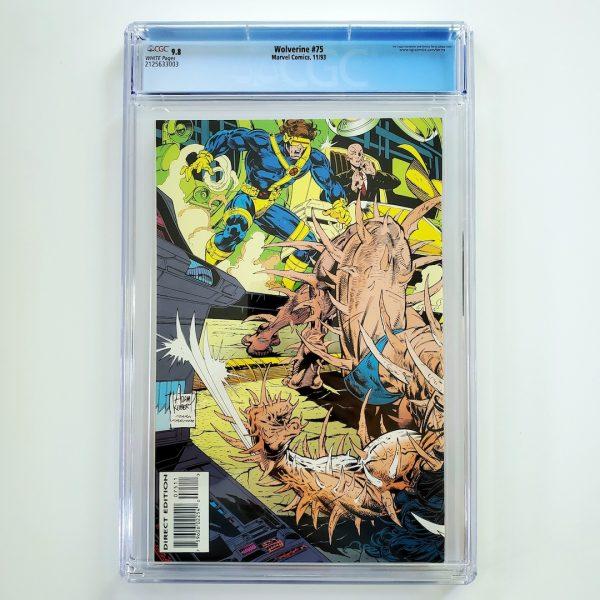 Wolverine #75 CGC 9.8 NM/M Back