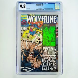 Wolverine #75 CGC 9.8 NM/M Front