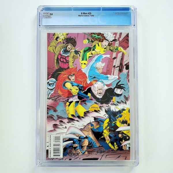 X-Men (Vol. 2) #25 CGC 9.8 NM/M Back