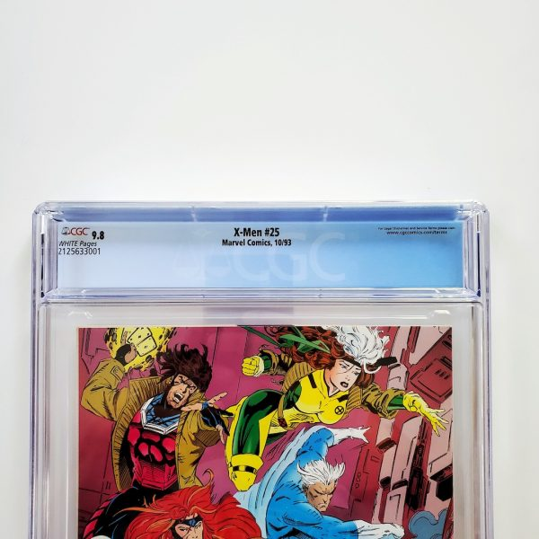 X-Men (Vol. 2) #25 CGC 9.8 NM/M Back Label