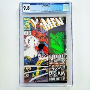 X-Men (Vol. 2) #25 CGC 9.8 NM/M Front