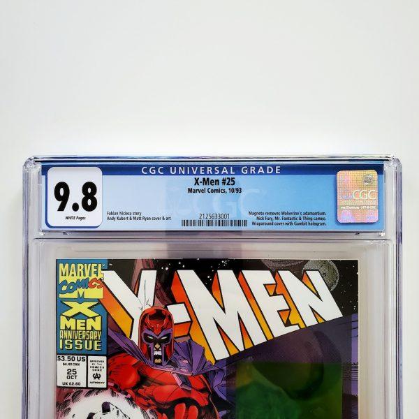 X-Men (Vol. 2) #25 CGC 9.8 NM/M Front Label