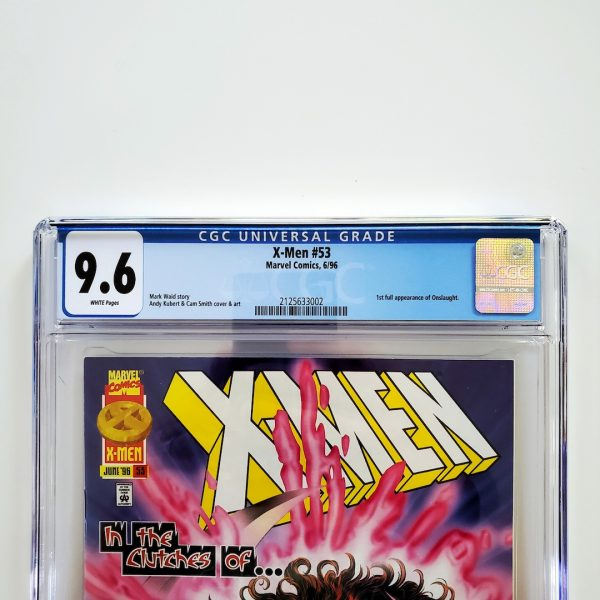 X-Men (Vol. 2) #53 CGC 9.6 NM+ Front Label