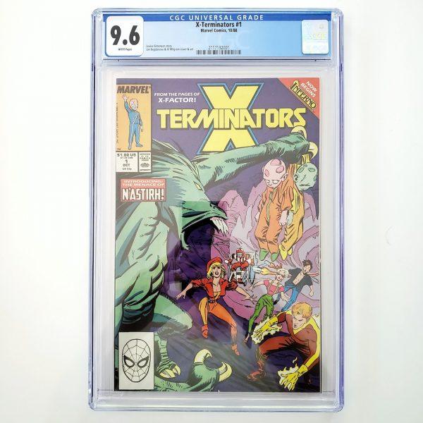 X-Terminators #1 CGC 9.6 NM+ Front