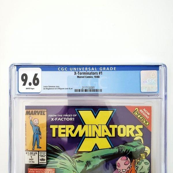 X-Terminators #1 CGC 9.6 NM+ Front Label