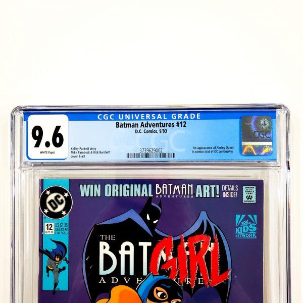 Batman Adventures #12 CGC 9.6 NM+ Front Label