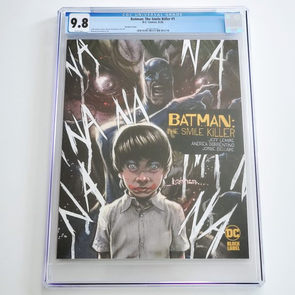 Batman: The Smile Killer #1 CGC 9.8 NM/M Variant Front