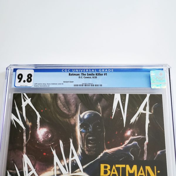 Batman: The Smile Killer #1 CGC 9.8 NM/M Variant Front Label
