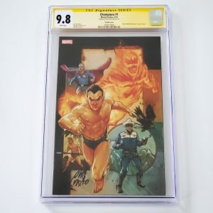 Champions (2019) #1 CGC SS 9.8 NM/M Marvel 80th Anniversary Variant Front