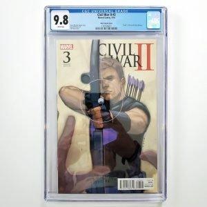 Civil War II #3 CGC 9.8 NM/M Phil Noto Variant Front