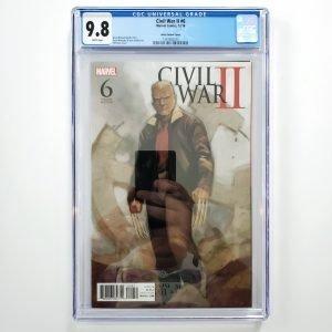 Civil War II #6 CGC 9.8 NM/M Phil Noto Variant Front