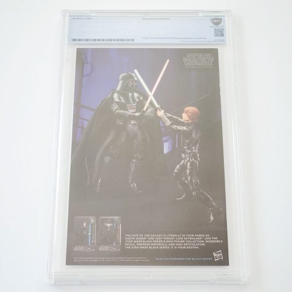 Darth Vader (2015) #3 CBCS 9.8 NM/M Back