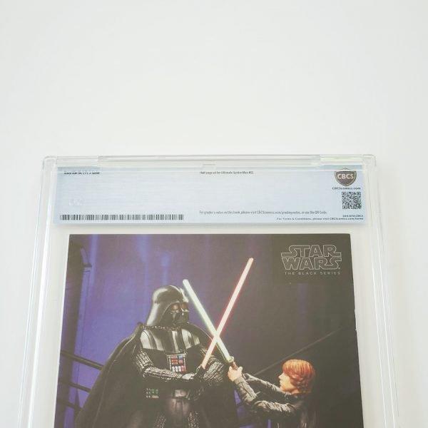 Darth Vader (2015) #3 CBCS 9.8 NM/M Back Label