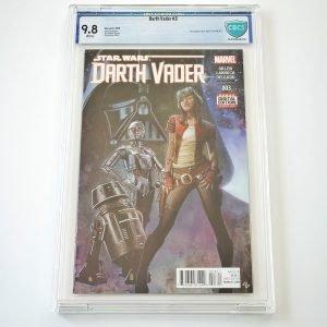 Darth Vader (2015) #3 CBCS 9.8 NM/M Front