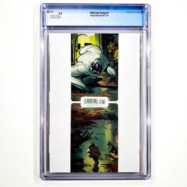 Oblivion Song #1 CGC 9.8 NM/M Back