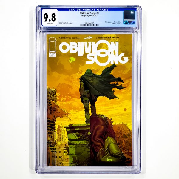 Oblivion Song #1 CGC 9.8 NM/M Front