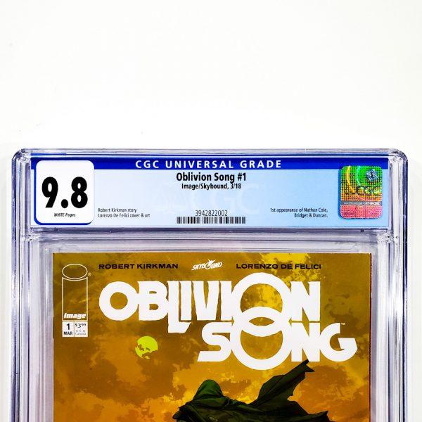 Oblivion Song #1 CGC 9.8 NM/M Front Label