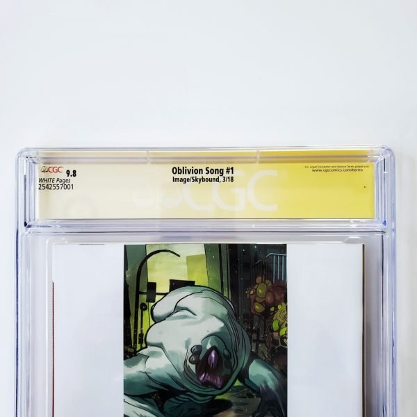 Oblivion Song #1 CGC SS 9.8 NM/M Back Label