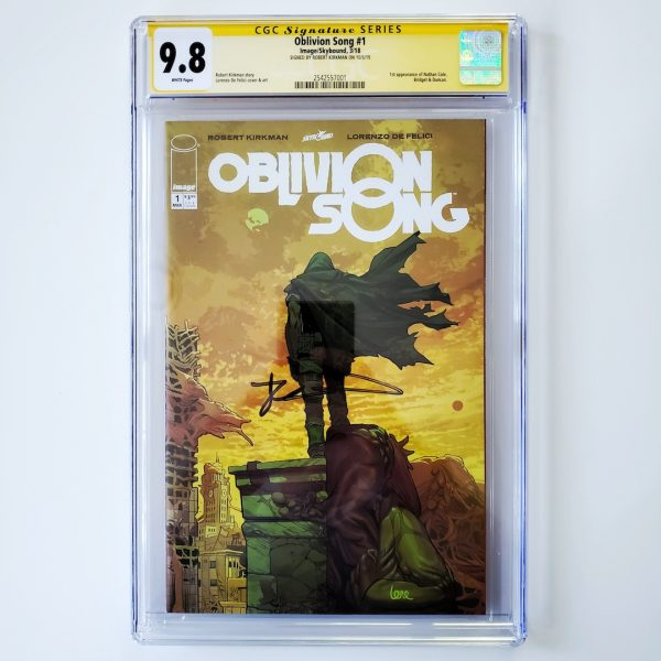 Oblivion Song #1 CGC SS 9.8 NM/M Front