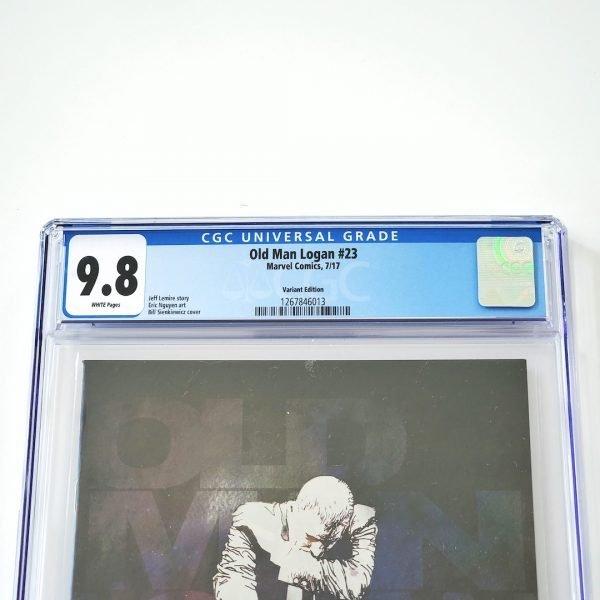 Old Man Logan #23 CGC 9.8 NM/M Bill Sienkiewicz Variant Front Label