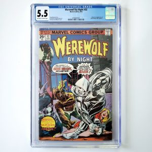 Werewolf By Night #32 CGC 9.8 NM/M Front