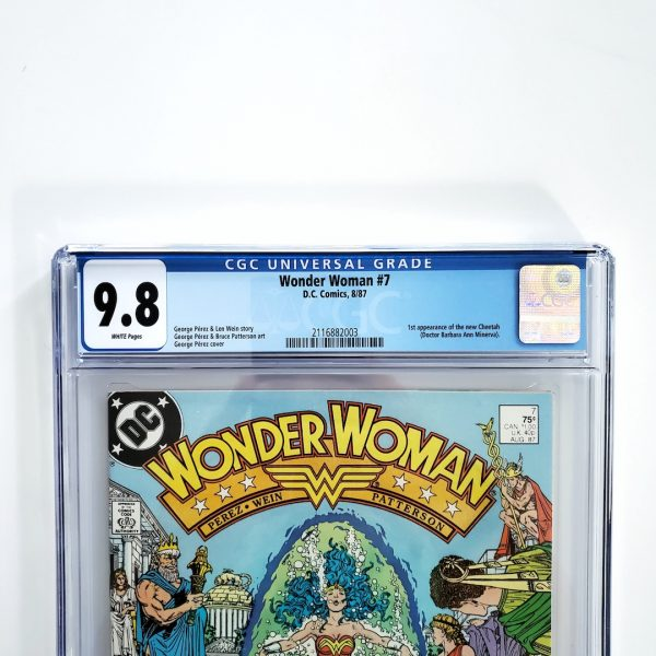 Wonder Woman #7 CGC 9.8 NM/M Front Label