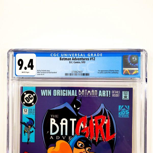 Batman Adventures #12 CGC 9.4 NM Front Label
