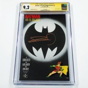 Batman: The Dark Knight Returns #3 CGC SS 9.2 NM- Front